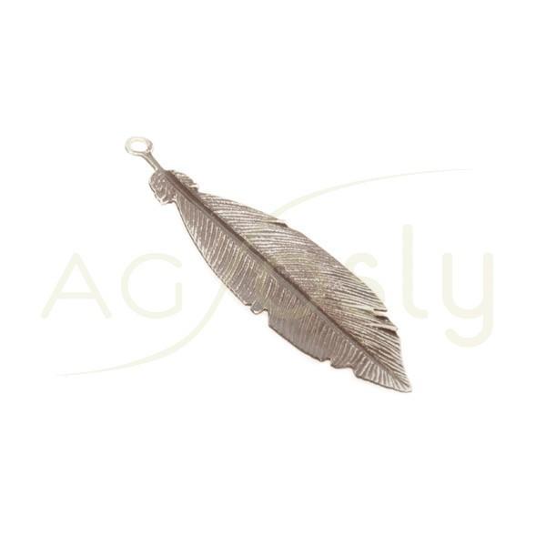 Pieza de montaje rodiado marrón modelo pluma pequeña.30mm