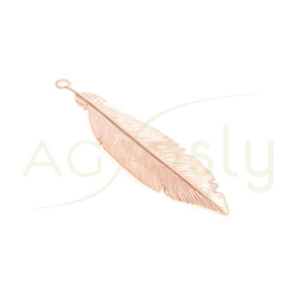 Pieza de montaje chapado rosa modelo pluma.38mm