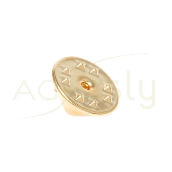 Cierre pin chapado.11mm