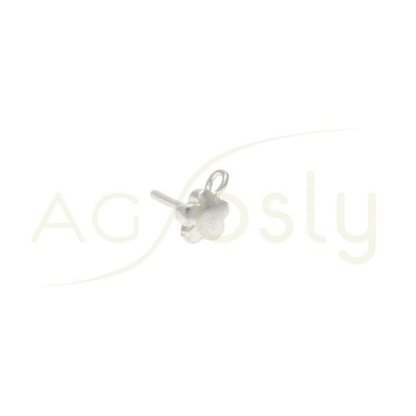 PERNO DE 5mm CON FLOR + ANILLA