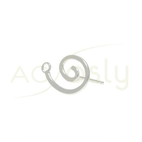 PERNO DE 11mm CON ESPIRAL + ANILLA