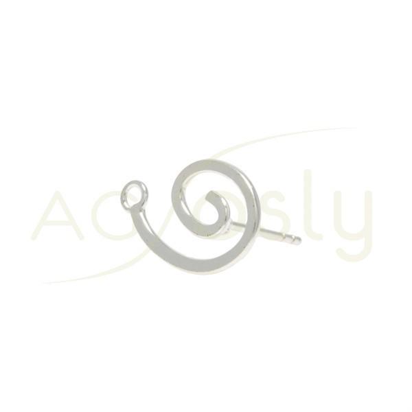 Base pendiente dibujo con perno y anilla.11mm
