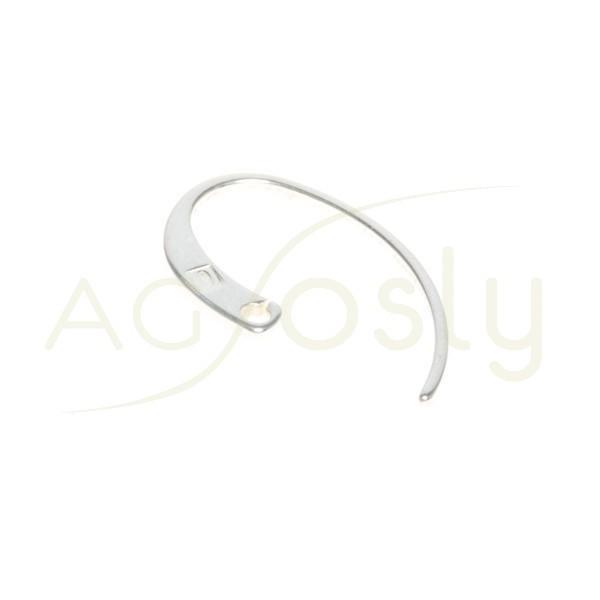 Gancho pendiente plano con encaje para anilla.23mm