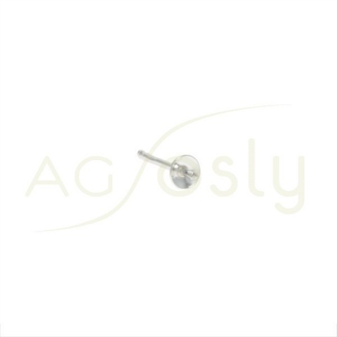 PERNO DE 4mm CON CASCARILLA