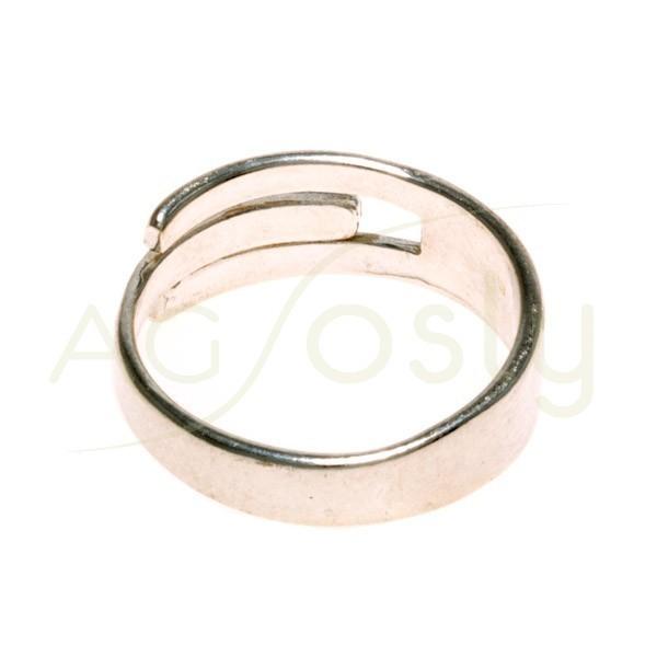 Base anillo brazo abierto.ancho max.7mm