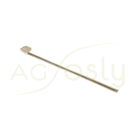 Aguja de broche.1x43mm