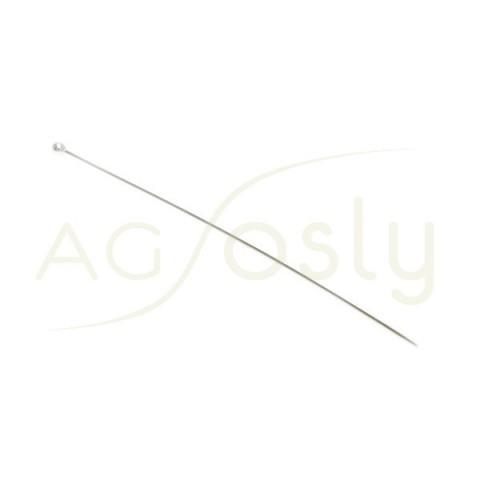AGUJA DE BOLA 0,5 x 50,0mm