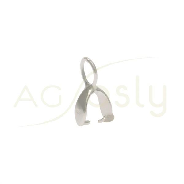 Base colgante con anilla.12mm