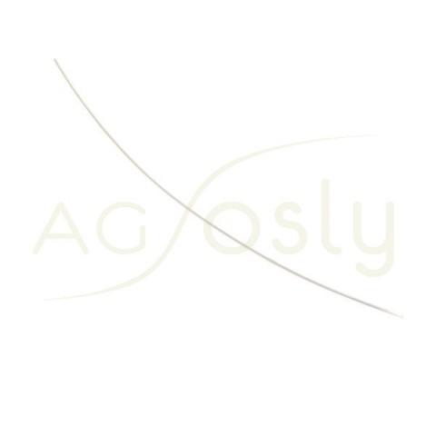Aguja de plata sin terminal 0,5x60mm