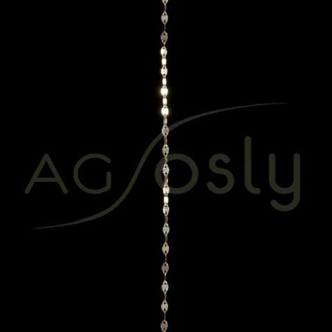 Cadena oro fantasia 4030 en 40cm.