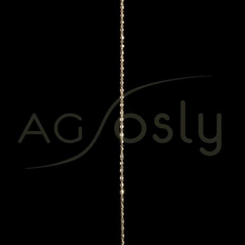 Cadena oro modelo fantasía en 45cm