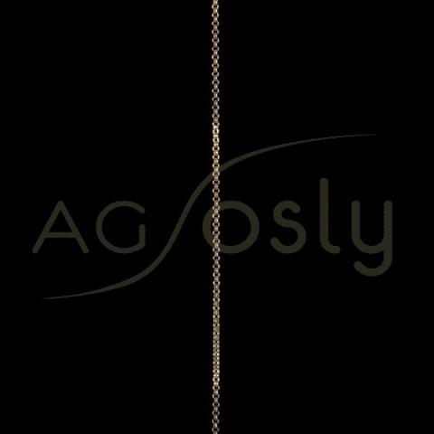 Cadena oro rolo 015 sin montar.(50 cm)