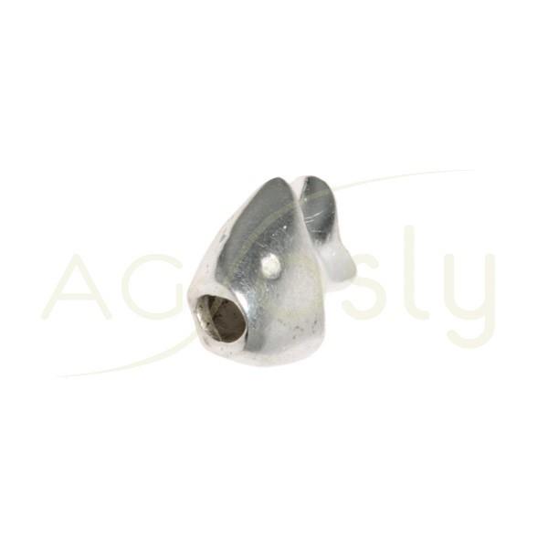 Entrepieza figura de pez. 9mm