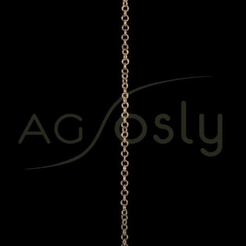 Cadena oro fantas¡a 1109 sin montar.(50cm)