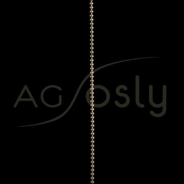 Cadena de Oro Amarillo modelo Bolas, de 1,8mm a metros