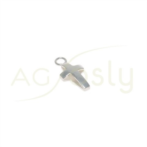 Pieza de montaje colgante cruz. 14x7mm