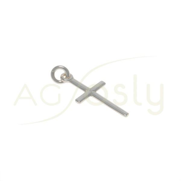 Pieza de montaje colgante cruz. 18x9mm
