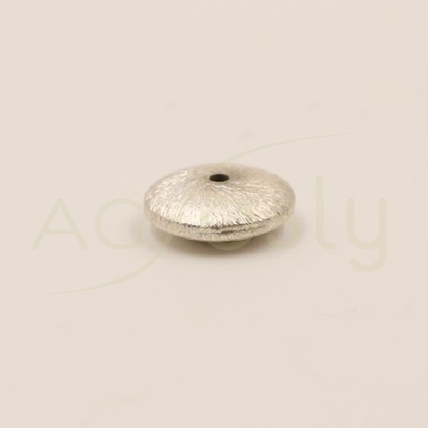 Pieza de montaje redonda matizada.12mm Int.1,2mm