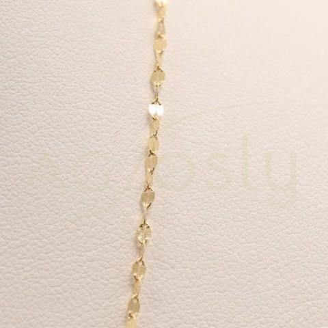 Cadena de oro modelo fantasía en 40cm