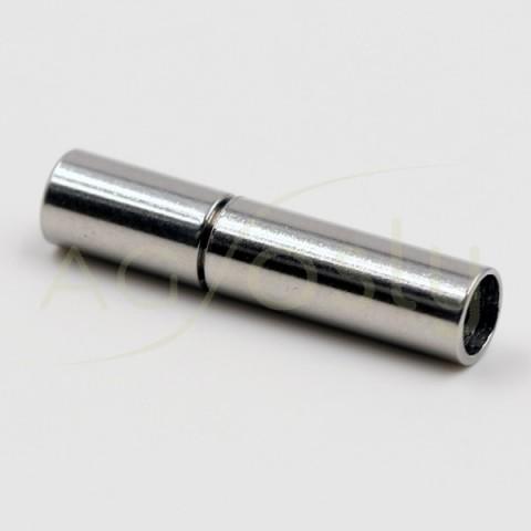 Cierre acero modelo alemán.3mm largo.18mm
