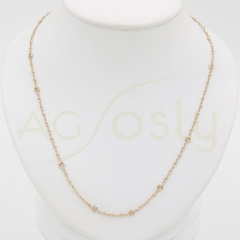 Collar DE 11 PIEDRAS - 0.035ct y 64 PIEDRAS - 0.005ct