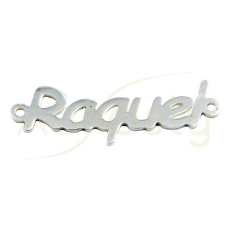 Entrepieza nombre Raquel