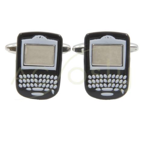 Gemelos en forma de BlackBerry