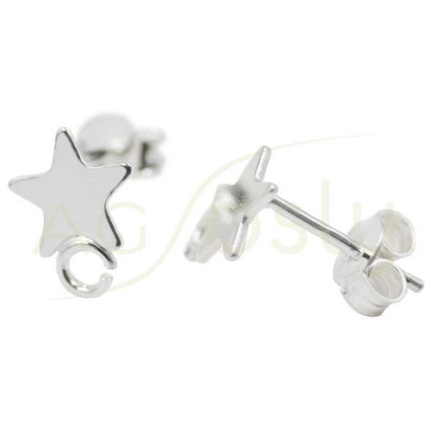 Base pendientes de estrella y anilla
