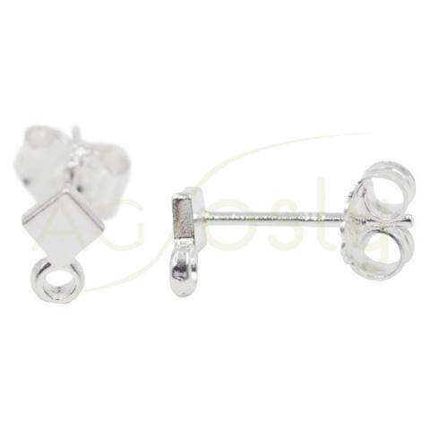 Base pendiente rombo con anilla