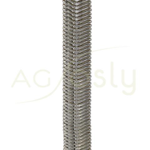 Pulsera modelo Cashemre 9,8 de ancho 18cm de largo + 5 de anillas