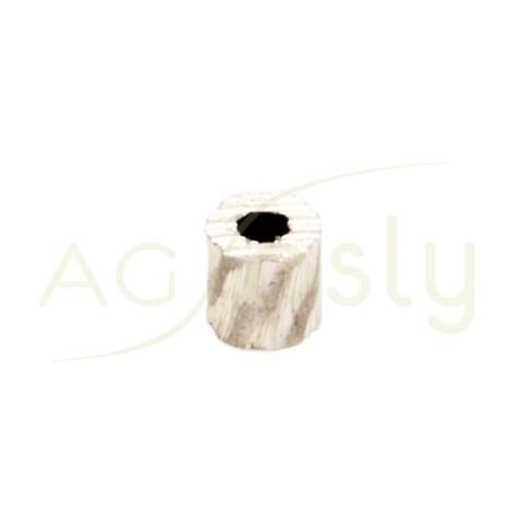 Pieza de montaje con textura.3,9x4mm Int.1,2mm