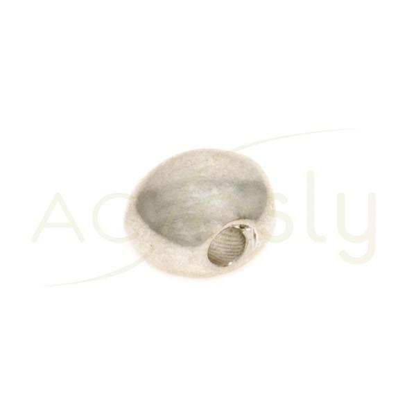 Pieza de montaje motivo piedra.7,6mm Int.2,2mm