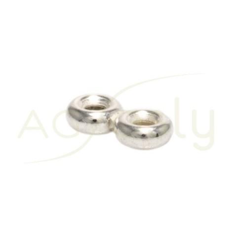 Entrepieza separador anillas 2 filas.9 x 4 mm