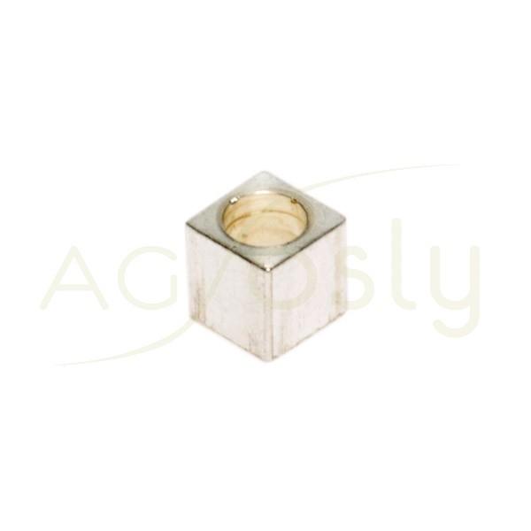 Pieza de montaje cubo liso.4mm Int.2,7mm